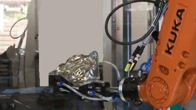 Überprüfung von Befestigungsklammern an Abschirmblechen